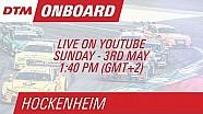 Marco Wittmann - Live Onboard (Race 2) - DTM Hockenheim 2015