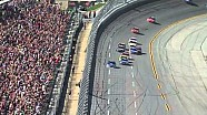 Hectic last lap - Earnhardt wins as others crash at Talladega