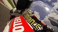 Andrea Iannone: a lap on Mugello circuit on MotoGP Ducati GP14 bike