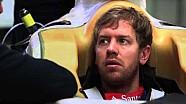 Sebastian Vettel in the 2015 single-seater