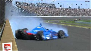 Kanaan crashes - 2015 Indy 500