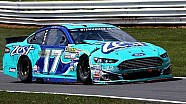 Stenhouse wrecks after issues in Turn 2