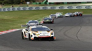 Onboard: Lamborghini vs Porsche at Vallelunga
