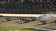 Nemechek crashes late at Iowa
