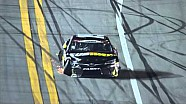 Edwards takes a big hit from Scott at Daytona