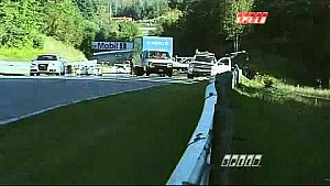 Luke Hines crash at Canadian Tire Motorsport Park