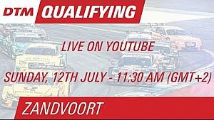 DTM Zandvoort 2015 - Qualifying (Race 2) - Live Stream