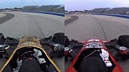 #INDYCAR In-Car Theater: Graham Rahal vs Ryan Briscoe