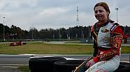 Victoria Verstappen, Test Rotax à Genk, le 06/12/2014