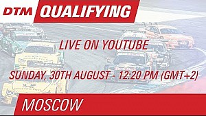 DTM Moscow 2015 - Qualifying (Race 2) - Live