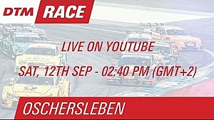 DTM Oschersleben 2015 - Race 1 - Live Stream