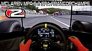rFactor 2: McLaren Mp4-6 at Spa