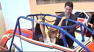 NASCAR Hall of Fame exhibit for Jeff Gordon