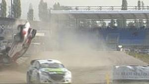 Massive crash for World RX Team Austria driver Manfred Stohl