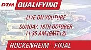 DTM Hockenheim (Finale) - Qualifying 2 - Live