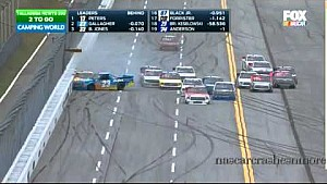 John Wes Townley and Spencer Gallagher crash at Talladega