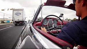 Nico drives Mercedes-Benz 300SL