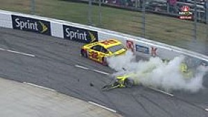Matt Kenseth and Joey Logano crash at Martinsville: the full sequence and aftermath