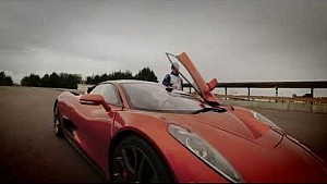 Massa auditions for Bond villain driving the Jaguar C-X75