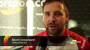Ferrari World Finals | Top-3 interviews from Trofeo Pirelli Europe Race 1 at Mugello