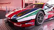 Présentation de la Ferrari 488 GTE