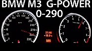 BMW M3 E92 0-290 Acceleration G-Power V8 Sound Onboard Aulitzky Tuning KKS Exhaust E93