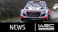 Wales Rally GB 2015: Stages 14-17