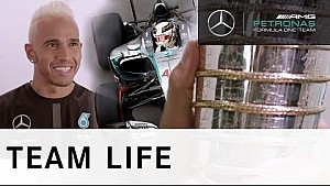 The Man Behind the Champion with Lewis Hamilton - Present