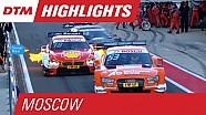 DTM на Moscow Raceway 2015 - лучшие моменты второй гонки