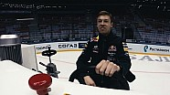 Daniil Kvyat in the world's slowest race