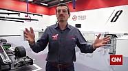 Rundgang im Workshop von Haas F1