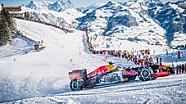 Onboard: Formel 1 auf Schnee