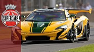Mclaren P1 GTR - unbelievable £2m 1000BHP hybrid driven by Kenny Brack