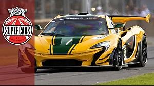 Mclaren P1 GTR - unbelievable £2m 1000BHP hybrid driven by Kenny Brack