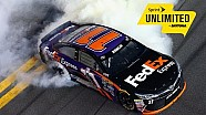 Hamlin survives overtime chaos to win