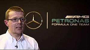 Mercedes W07 Launch 2016 -  Andy Cowell