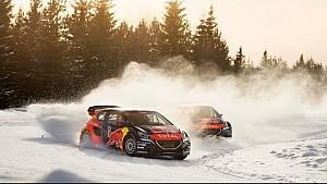 Rallycross on Ice | Sebastien Loeb Takes On a New Racing Challenge