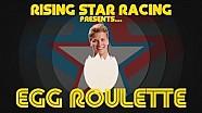 Les pilotes Rising Star Racing jouent à la Roulette Russe avec des œufs