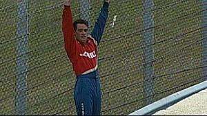 Jimmie Johnson Loses His Brakes at Watkins Glen 2000