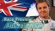 Nico explica los desafíos que enfrentan un piloto de F1 en el GP australiano de 2016