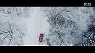 开着F40去雪地露营