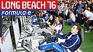 Long Beach Formula E simulator eRace