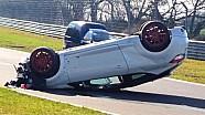 Massive crash of a Renault Megane RS on the Nürburgring Nordschleife