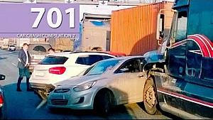 Car Crash Compilation # 701 - April 2016 (English Subtitles)