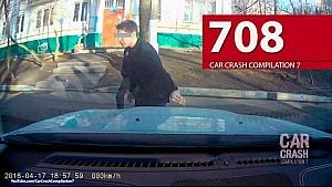 Car Crash Compilation # 708 - April 2016