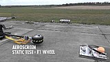 The Aeroscreen: Static Test - F1 Wheel @ 225kph