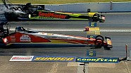 Doug Kalitta beats J.R. Todd in the closest final in NHRA Top Fuel history