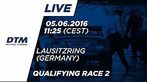 LIVE: Qualifying (Race 2) - DTM Lausitzring 2016