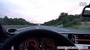 宝马435i和奔驰C450 AMG 欧洲高速狂飙,仪表盘对比