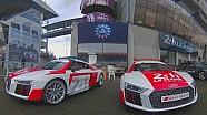 360 º Tour en la pista de carreras de Le Mans